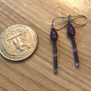 NWOT Dainty Beaded Earrings